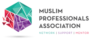 A logo of Muslim Professionals Association - Network|Support|Mentor